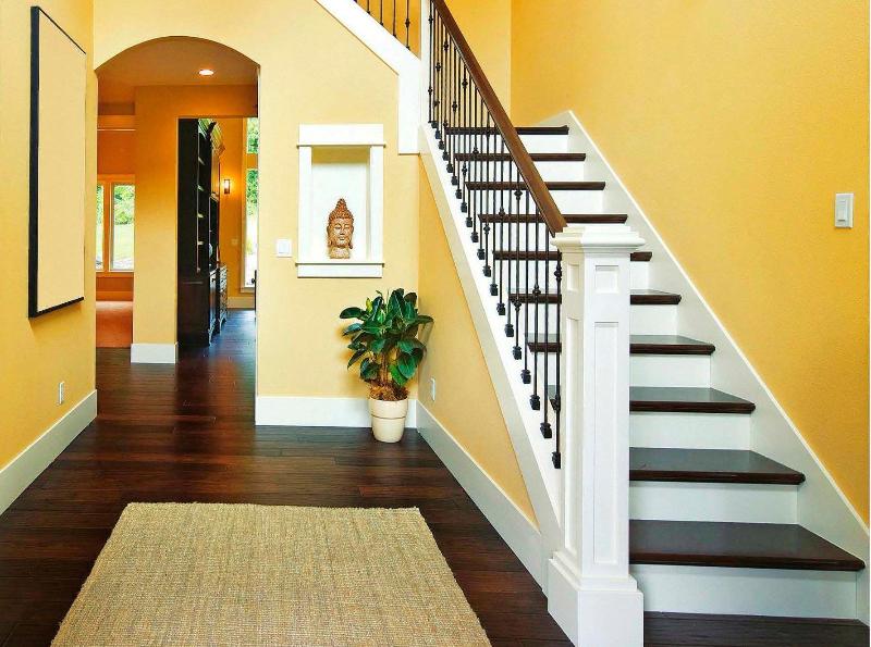 лестницы в американских домах фото